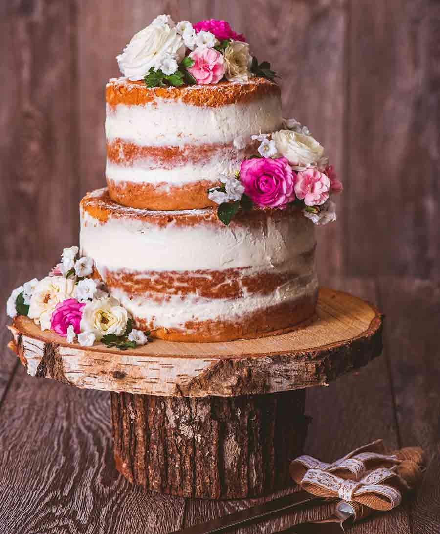 Rustic Wedding Cake Ideas And Inspiration: Wedding Cake Inspiration